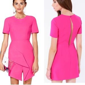 Keepsake Stubborn Love Fuchsia Dress